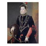 Elizabeth de Valois, 1604-8 Tarjeta Postal