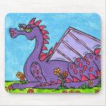 Elizabeth el dragón alfombrillas de ratones