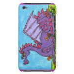 Elizabeth el dragón iPod touch Case-Mate protector