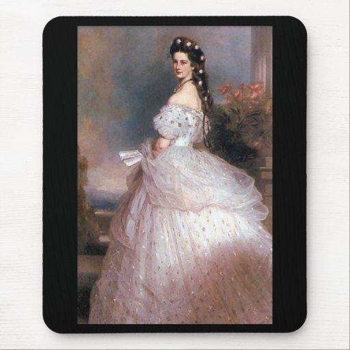 Elizabeth, emperatriz de Austria, 1865 Tapetes De Ratón