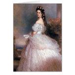 Elizabeth, emperatriz de Austria, 1865 Tarjeta De Felicitación