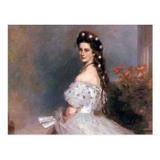 Elizabeth, emperatriz de Austria, 1865 Tarjeta Postal