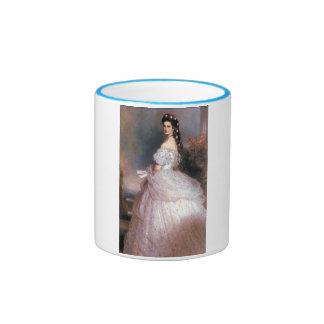 Elizabeth, emperatriz de Austria, 1865 Taza De Dos Colores