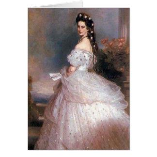 Elizabeth , Empress of Austria, 1865 Greeting Card