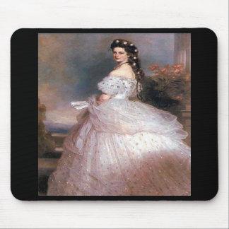 Elizabeth Empress of Austria 1865 Mousepads