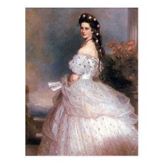 Elizabeth , Empress of Austria, 1865 Postcard