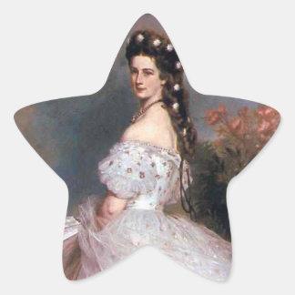 Elizabeth , Empress of Austria, 1865 Star Sticker