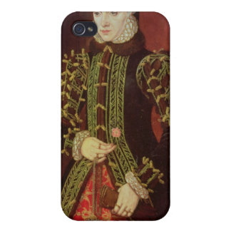 Elizabeth Fitzgerald, condesa de Lincoln, 1560 iPhone 4 Carcasas