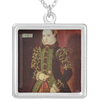 Elizabeth Fitzgerald, Countess of Lincoln, 1560 Silver Plated Necklace