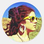 Elizabeth For Blue Seir Eight Sticker