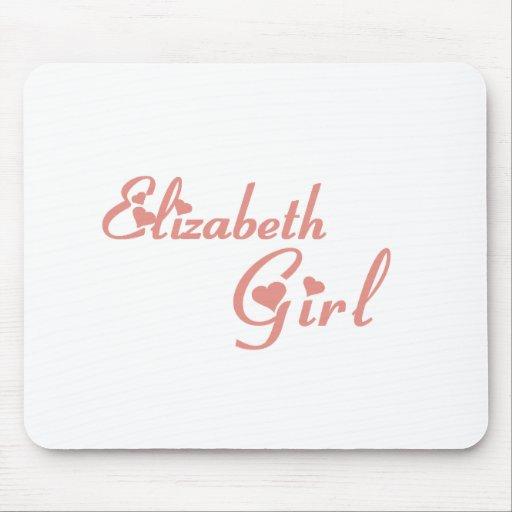 Elizabeth Girl tee shirts Mouse Pad