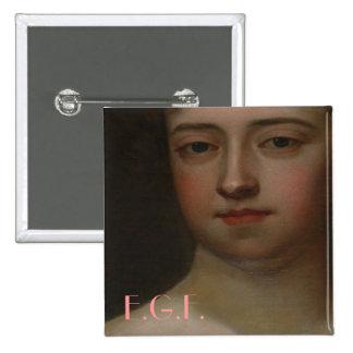 Elizabeth Graeme Fergusson I Pin Cuadrada 5 Cm