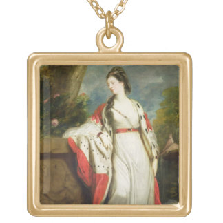 Elizabeth Gunning, Duchess of Hamilton and Duchess Gold Plated Necklace