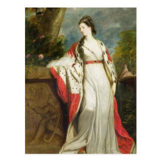 Elizabeth Gunning, Duchess of Hamilton and Duchess Postcard