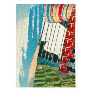 "Elizabeth Howard Abstract ""Ebb & Flow"" Postcard"
