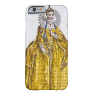 Elizabeth I (1530-1603) (coloured engraving) Barely There iPhone 6 Case