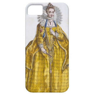 Elizabeth I (1530-1603) (coloured engraving) iPhone SE/5/5s Case