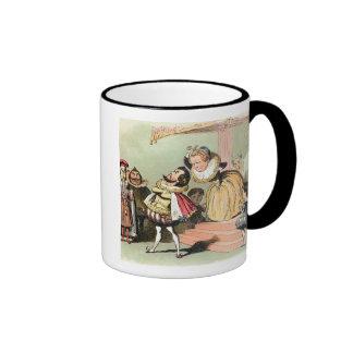 Elizabeth I (1533-1603): with Robert Devereux, 2nd Ringer Coffee Mug