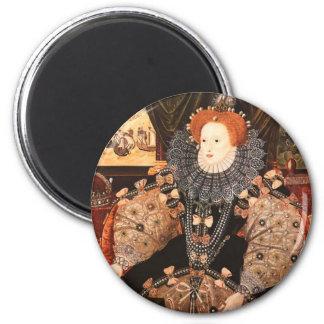 Elizabeth I 2 Inch Round Magnet