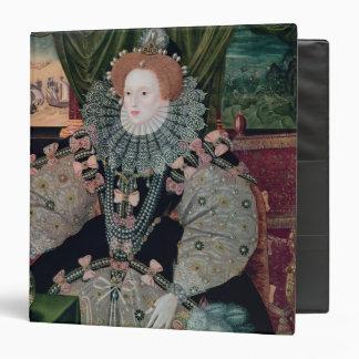 Elizabeth I, Armada Portrait, c.1588 3 Ring Binder