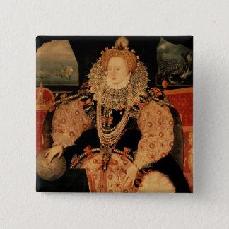 Elizabeth I, Armada portrait, c.1588 Button