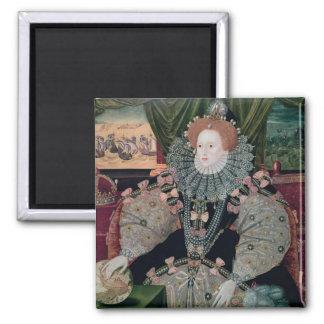Elizabeth I, Armada Portrait, c.1588 Magnet