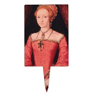Elizabeth I as Princess Cake Topper