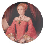 Elizabeth I as Princess Dinner Plate