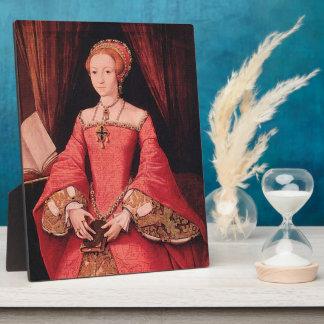 Elizabeth I as Princess Display Plaque