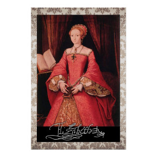 Elizabeth I as Princess Poster