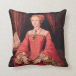 Elizabeth I as Princess Throw Pillow
