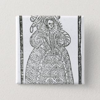 Elizabeth I Button