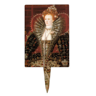 Elizabeth I c 1599 Cake Topper