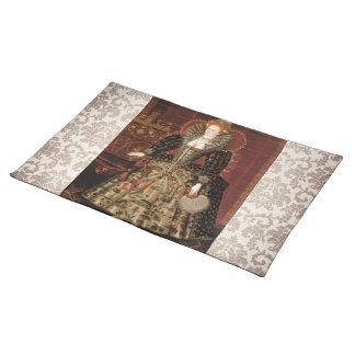 Elizabeth I c 1599 Cloth Place Mat