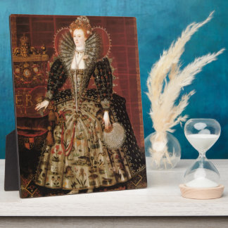Elizabeth I c 1599 Display Plaques