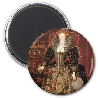 Elizabeth I c 1599 Refrigerator Magnet