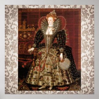 Elizabeth I c 1599 Poster