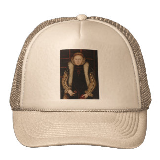 Elizabeth I Circa 1560 Mesh Hat