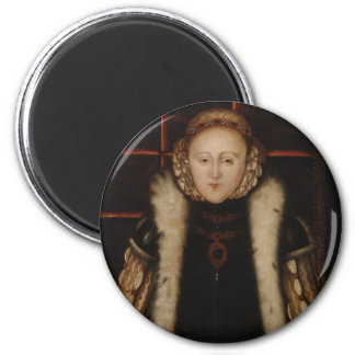 Elizabeth I Circa 1560 Refrigerator Magnet
