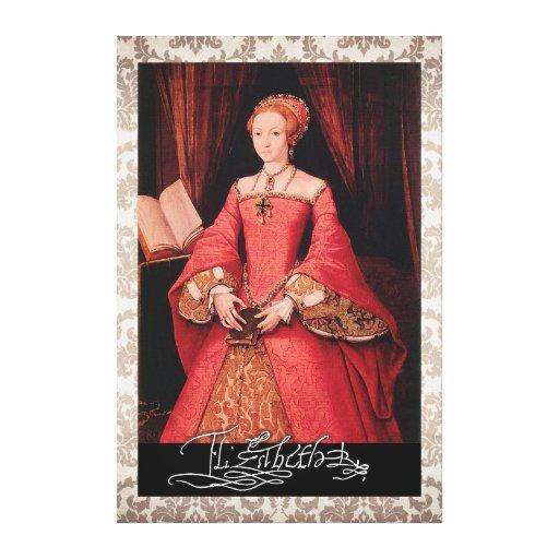 Elizabeth I como princesa Lienzo Envuelto Para Galerias