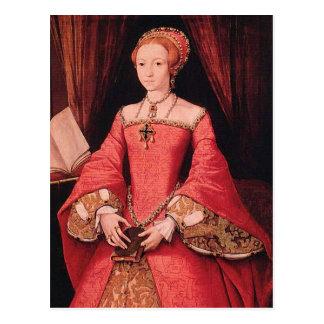 Elizabeth I como princesa Postales