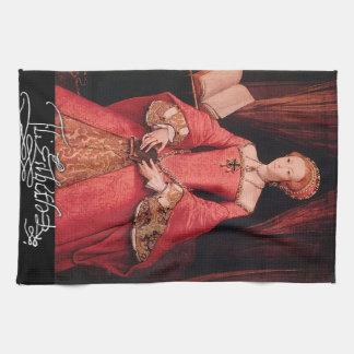 Elizabeth I como princesa Toallas De Cocina