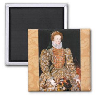 Elizabeth I Darnley Portrait Refrigerator Magnets