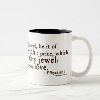 "Elizabeth I ""Golden Speech"" Quote Coffee Mugs"