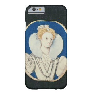 Elizabeth I, miniature portrait, (unfinished) Barely There iPhone 6 Case