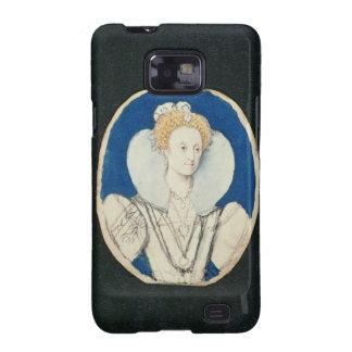 Elizabeth I, miniature portrait, (unfinished) Samsung Galaxy SII Case