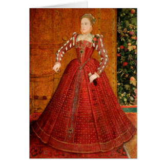 "Elizabeth I of England (The ""Hampden Portrait"") Card"
