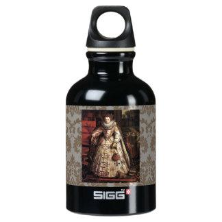 Elizabeth I Peace Portrait Aluminum Water Bottle
