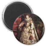 Elizabeth I Peace Portrait Magnet