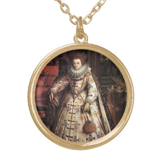Elizabeth I Peace Portrait Jewelry